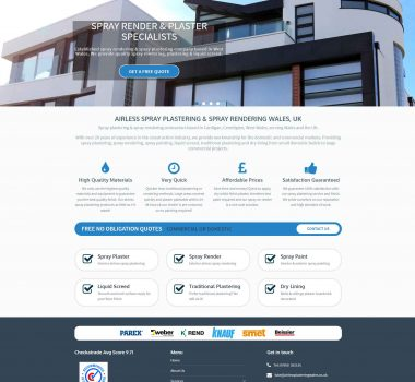 Airless Plastering Wales Ltd