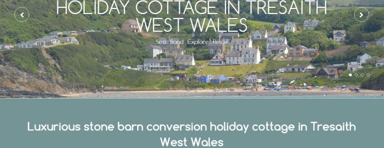 Holiday Cottage Website Design Cardigan